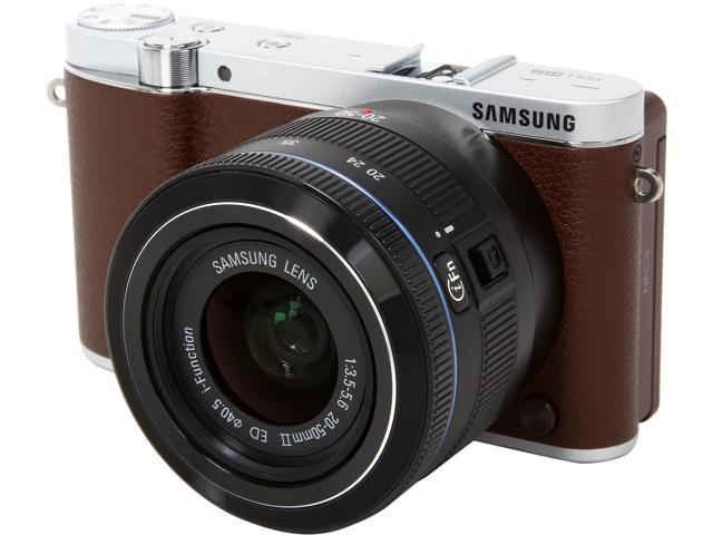 SAMSUNG NX3000 EV-NX3000BEJUS Brown 20.3MP 3.0
