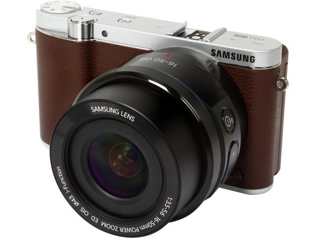 SAMSUNG NX3000 EV-NX3000BOJUS Brown 20.3MP 3.0