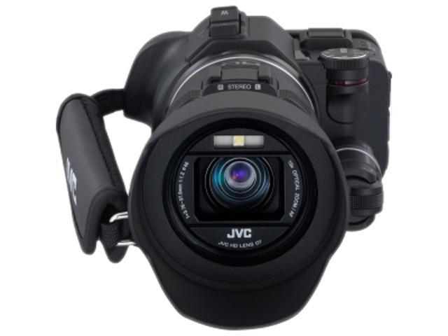 JVC GC-PX100B GC-PX100BUSM Black 1/2.3