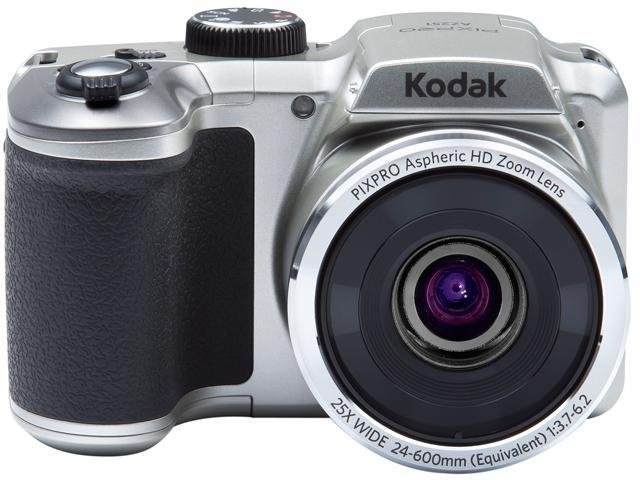 Kodak AZ251-SL Silver 16.15 Megapixels 25X Optical Zoom Wide Angle Astro Zoom Digital Camera