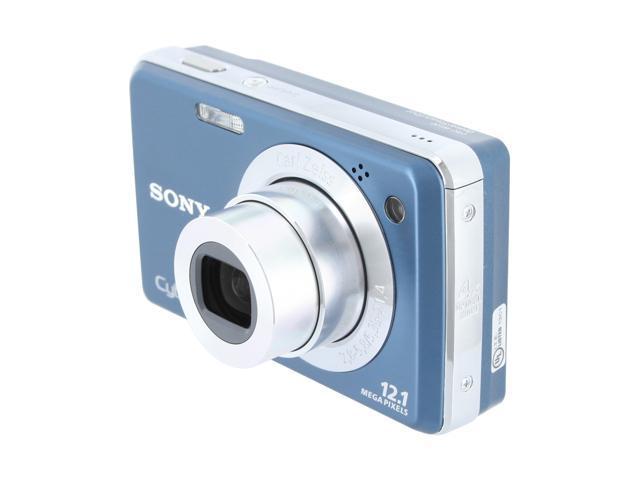 SONY Cyber-shot DSC-W230 Blue 12.1 MP 4X Optical Zoom Digital Camera