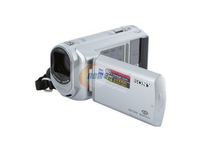 SONY DCR-SX40 Silver 1/8