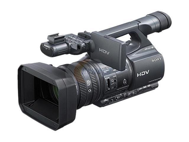 SONY Handycam HDR-FX1000 Black 3 x 1/3