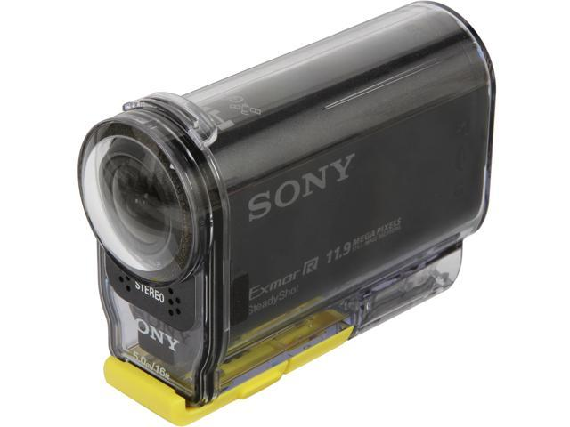 Sony HDRAS30V/B Black 11.9 MP Action Cam with GPS
