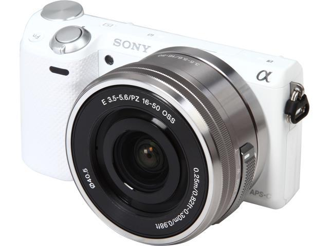 SONY Alpha NEX-5T NEX-5TL/W White 16.1 MP 3.0