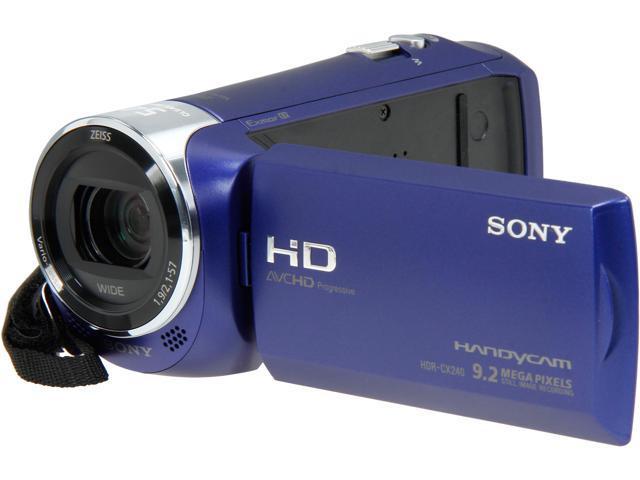 SONY HDR-CX240/L Blue 1/5.8
