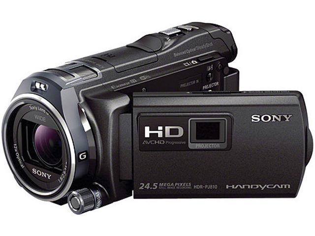 SONY HDR-PJ810/B Black 1/3.95