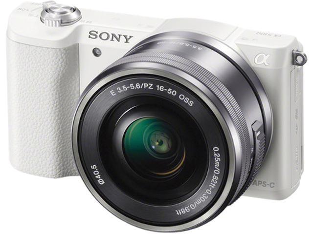 SONY Alpha a5100 ILCE-5100L/W White 24.3 MP 3.0