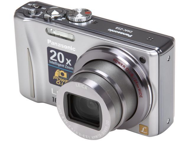 Panasonic DMC-ZS8 Silver 14.1 MP 16X Optical Zoom Digital Camera