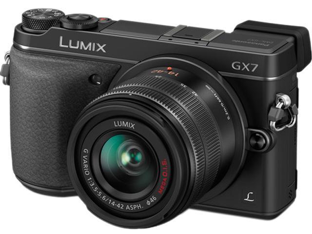 Panasonic LUMIX DMC-GX7 DMC-GX7KK Black 16.00 MP 3.0
