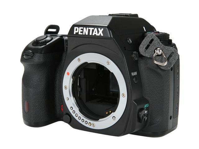 PENTAX K-7 Black 14.6 MP Digital SLR Camera - Body Only