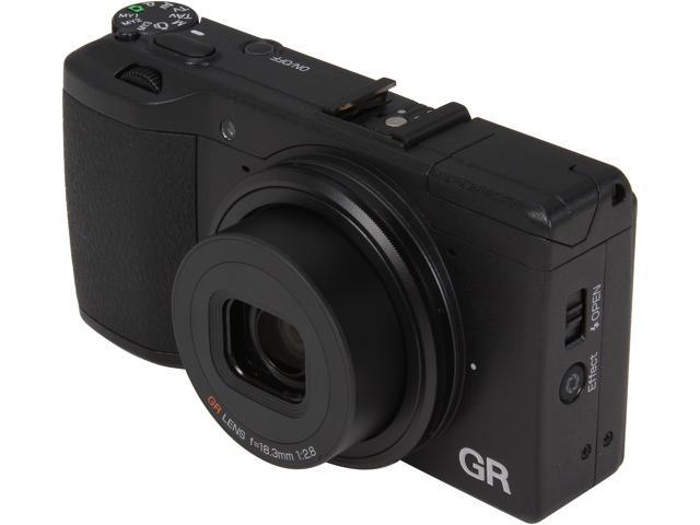 Ricoh GR 175743 Black 16.2MP Digital Camera
