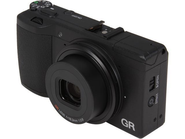 Ricoh GR 175743 Black 16.2MP Digital Camera