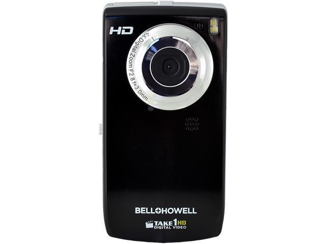 Bell & Howell T100HD Take1HD Black 5.0 MP 1.8