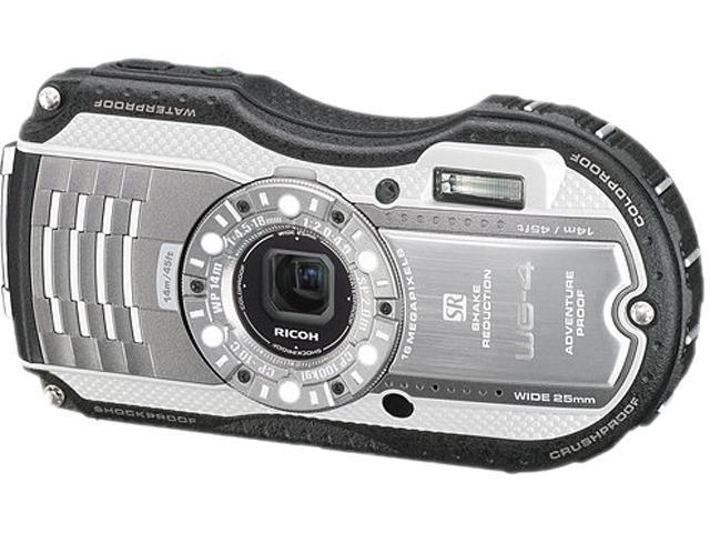 Ricoh WG-4 8572 Silver 16 MP 3.0