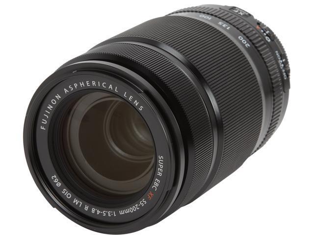 FUJIFILM 16384941 Fujinon XF 55-200mm F3.5-4.8 R LM OIS Lens Black