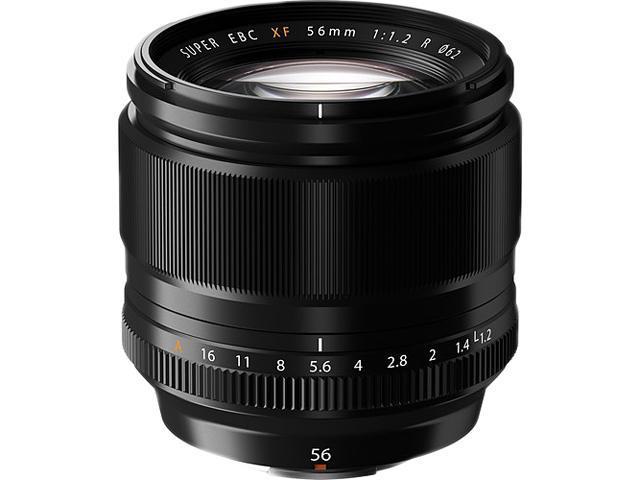 FUJIFILM 16418649 XF56mmF1.2 R Lens Black