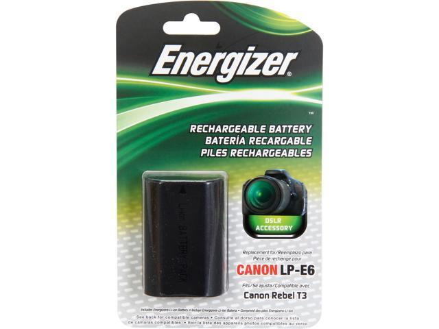 Energizer ENB-CE6 1-Pack 1400mAh Li-Ion Battery for Canon LP-E6