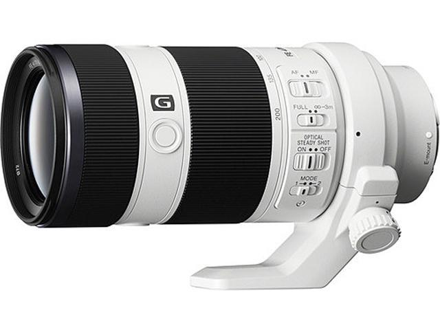 SONY SEL70200G FE 70-200mm f/4.0 G OSS Lens White
