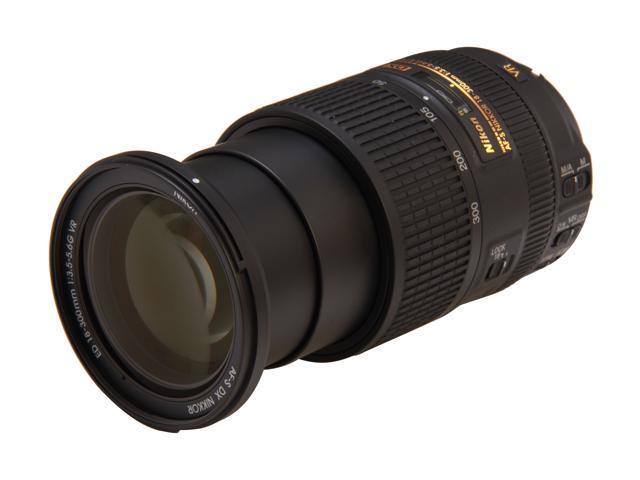 Nikon 2196 SLR Lenses AF-S DX NIKKOR 18-300mm f/3.5-5.6G ED VR Lens Black