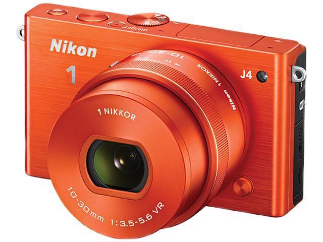 Nikon 1 J4 27686 Red 18.4MP 3.0