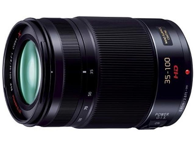 Panasonic H-HS35100 LUMIX G X VARIO 35-100mm / F2.8 ASPH. Lens Black