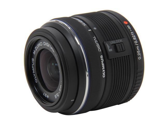 OLYMPUS V314050BU000 M.ZUIKO DIGITAL ED 14-42mm f3.5-5.6 II Lens Black