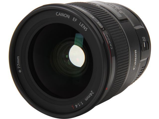 Canon 2750B002 EF 24mm f/1.4L II USM Wide Angle Lens Black