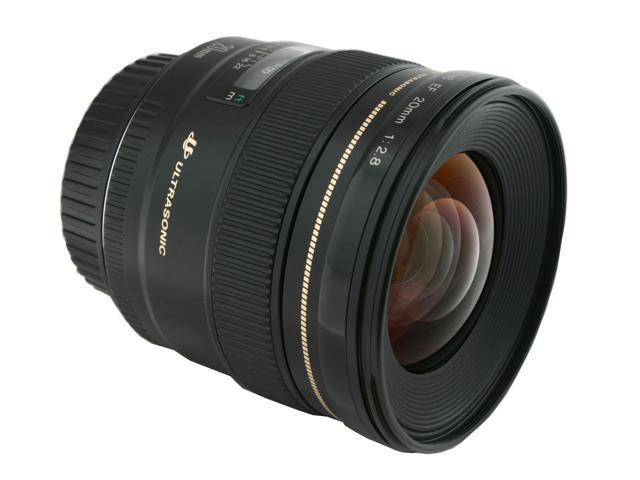 Canon 2509A003 EF 20mm f/2.8 USM Ultra-wide-angle lens Black