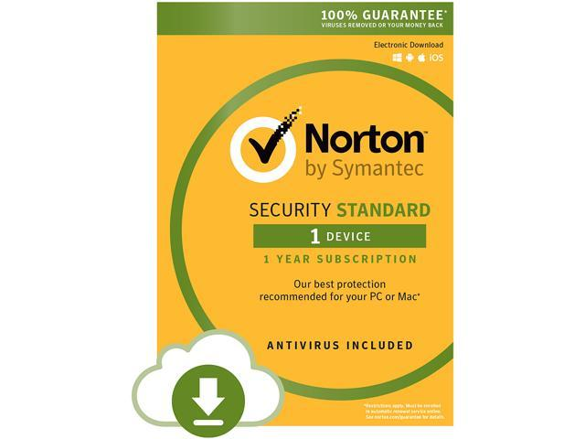 Symantec Norton Security Standard - 1 Device