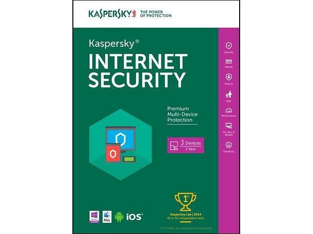 Kaspersky Internet Security 3 Devices 1 Year - Download