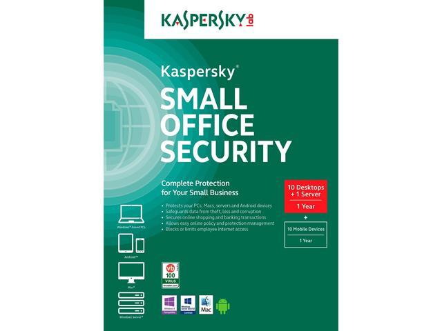 Kaspersky Small Office Security 5 Devices Plus 1FS 1 Year