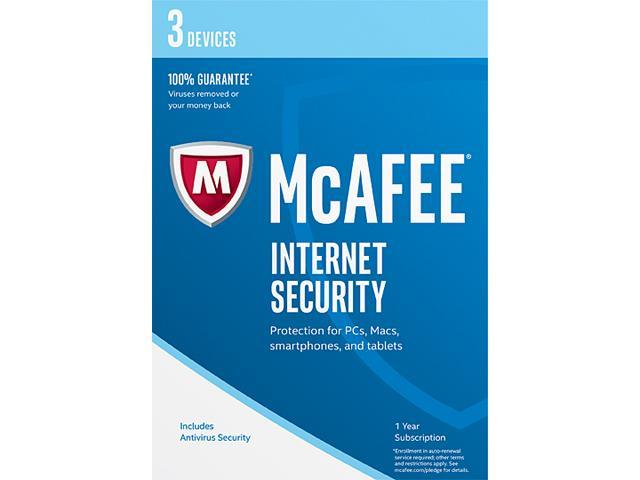 FREE McAfee Internet Security.