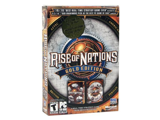 Rise of Nations: Gold Edition PC Game