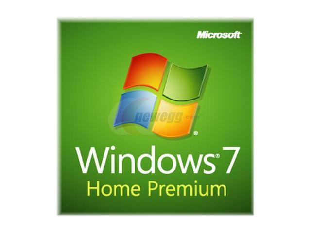 Microsoft Windows 7 Home Premium SP1 64-bit - OEM