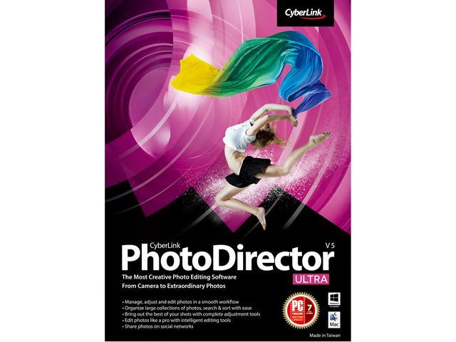 CyberLink PhotoDirector 5 Ultra for PC/Mac - Download