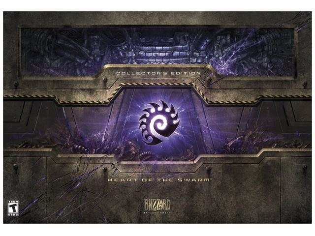 Starcraft II: Heart of the Swarm Collector's Edition PC Game