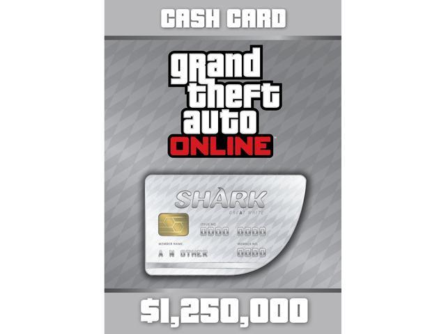 Grand Theft Auto Online: The Great White Shark Cash Card - PS3 [PSNSM Credit]