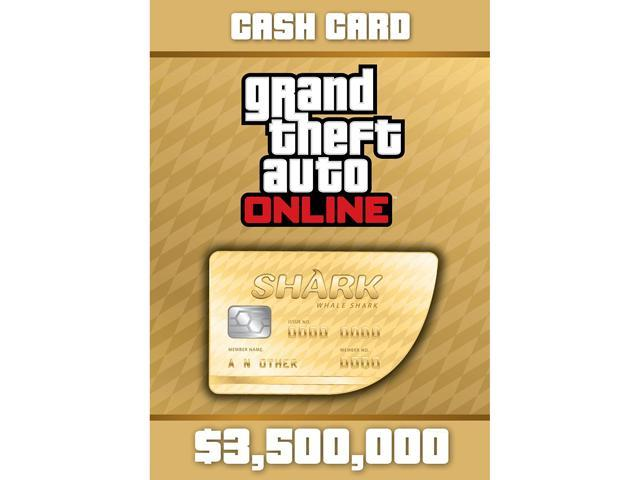 Grand Theft Auto Online: Whale Shark Cash Card - PS3 [PSNSM Credit]