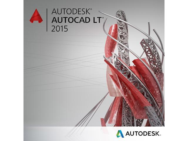 Autodesk AutoCAD LT 2015 for 1 PC