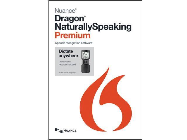 NUANCE Dragon NaturallySpeaking Premium 13 - Mobile (Digital Recorder)
