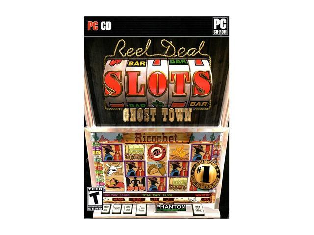 Reel Deal Slots Ghost Town Jewel Case PC Game