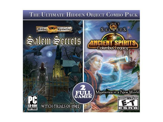 Hidden Mysteries: Salem Secrets & Lost Secrets: Ancient Spirits PC Game