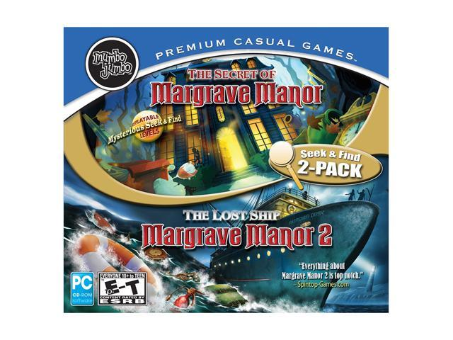 Margrave Manor 1 & 2 Jewel Case PC Game
