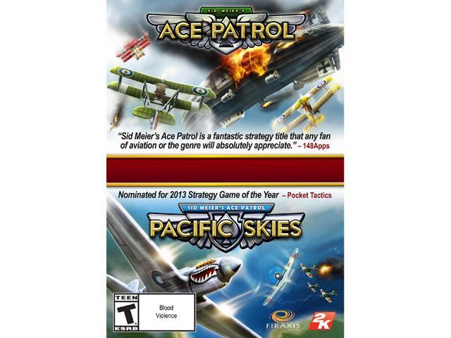 Ace Patrol Bundle (Base Game + Pacific Skies) [Online Game Code]