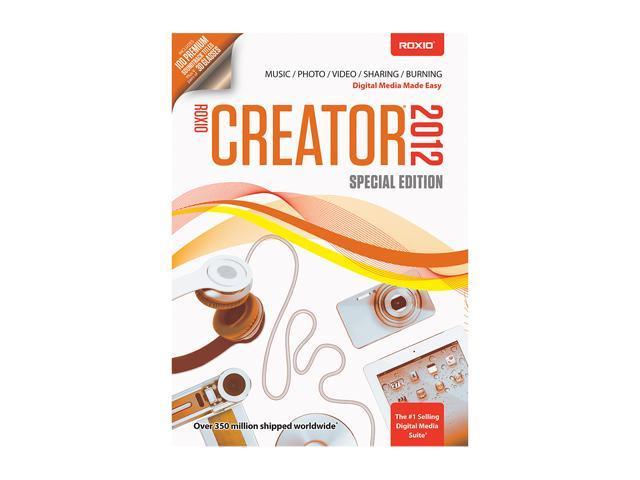 Roxio Creator 2012 Special Edition