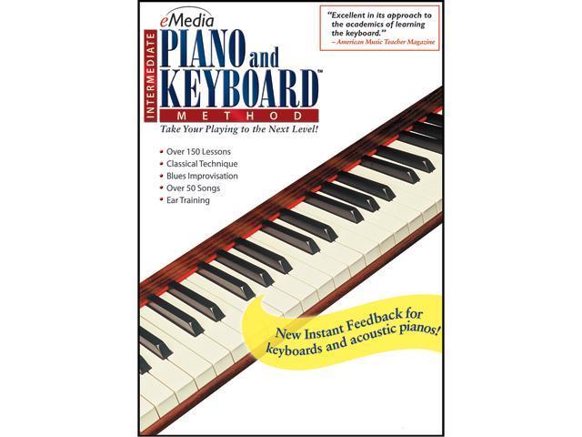 eMedia Intermediate Piano and Keyboard Method (Mac) - Download