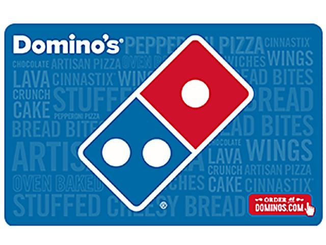 $30 Domino's Pizza Gift Card + $5 GC