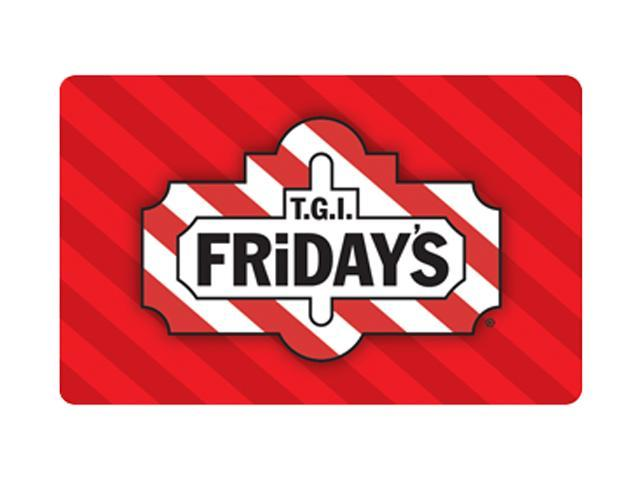 TGI Friday's $50 Gift Card (Email Delivery)