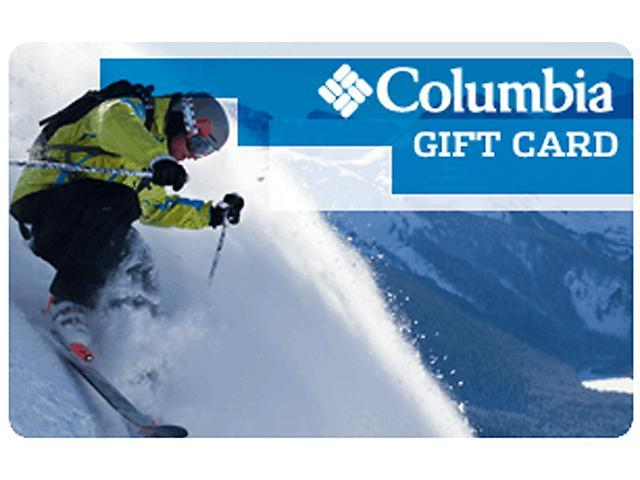 Columbia Sportswear $50 Gift Card (Email Delivery)